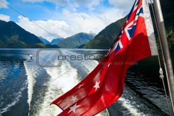 Cruising at Fiordland