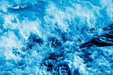 seawater splashing