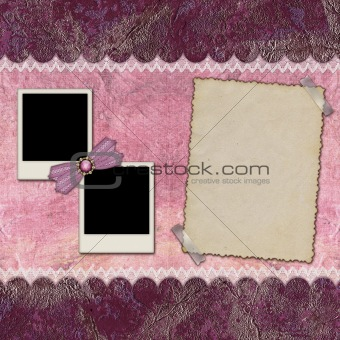 Frames for photos of various formats
