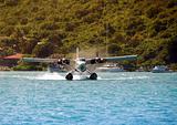 Hydroplane approaching