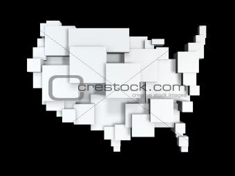 box map of usa