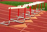 Track hurdles