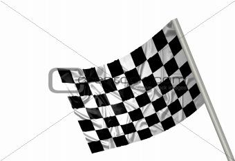 F1 winner flag