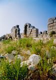 Patara lycian ruins turkey