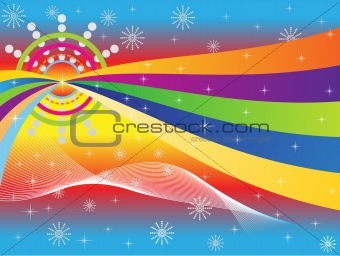 abstract_colorful_wave_background