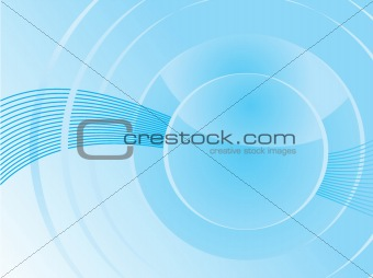 blue based abstract background
