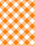 JPG Woven Orange Gingham