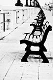Benches in Bari