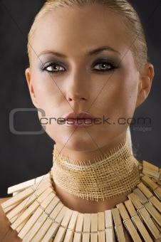 close up of amazon woman