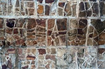 Aboriginal stone wall