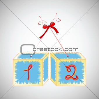 cubes alphabet 12