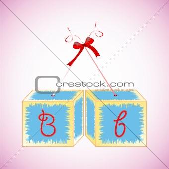 alphabet cubes B