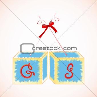 cubes alphabet G