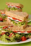 Healthy sandwiches