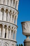 Urn and Leaning Tower of Pisa