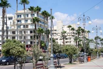 Ayia Napa street scene