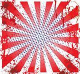 Grunge Spiral Background