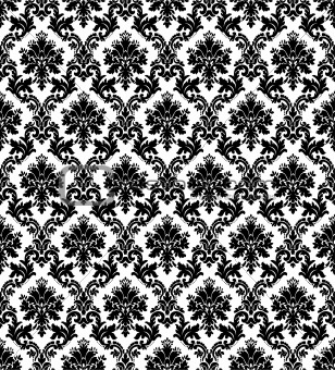 Vintage Wallpaper Black And White