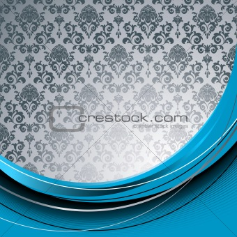 Blue  and gray background