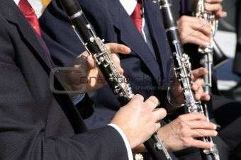 clarinet players