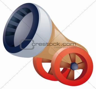 Artillery nozzle