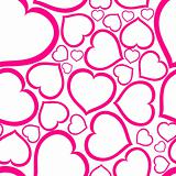 Love seamless vector pattern