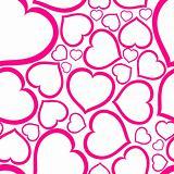Love seamless vector pattern