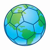Planet Earth World Cup Soccer Ball
