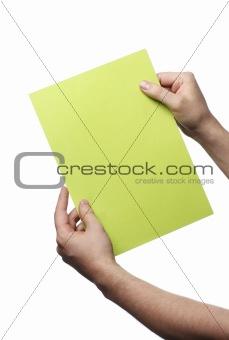 Green message