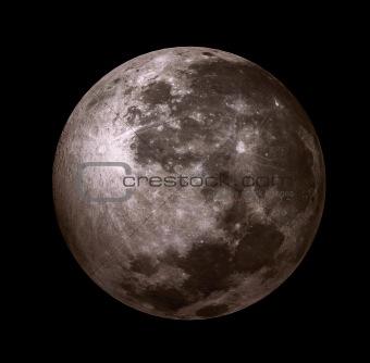 3D - moon
