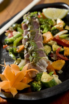 Thai Tuna and veg