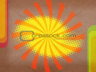 Grunge background and texture with beams for design .