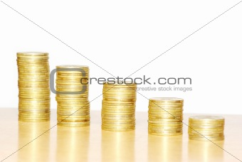 towers of coins