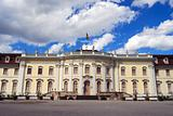 Entrance to royal palace -  panoramic view