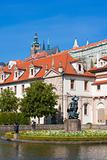 prague, czech republic - baroque wallenstein garden at mala strana