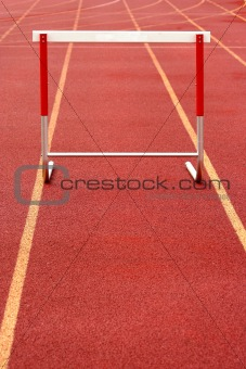 Track hurdle