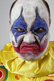 Evil psycho clown