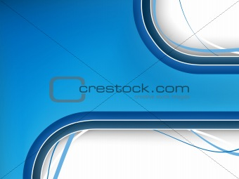 Blue Background with copyspace