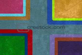 Grunge background and texture with rectangles.