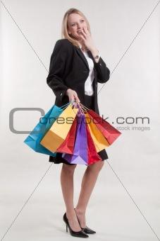 Attractive twenties caucasian blonde woman