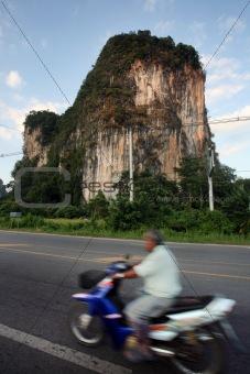 CLIFF IN THAILAND
