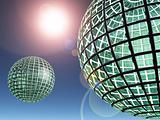 Glass World Spheres