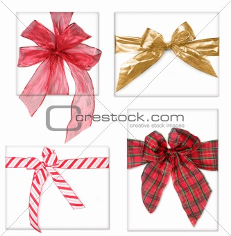 Beautiful Christmas Gifts With Bows