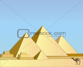 Group of the Egyptian pyramids