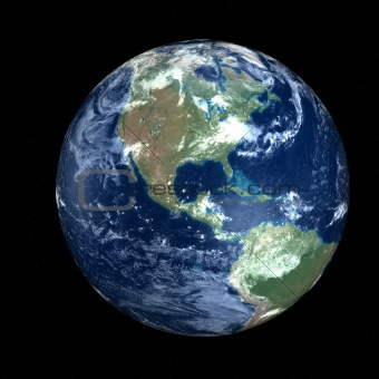 Beautiful Earth - America in space