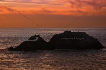 California twilight