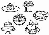 Dessert food