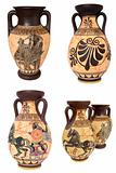 Greek Vases Collage