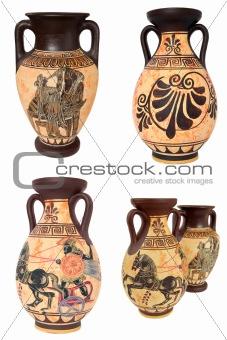 Greek Vases Collage