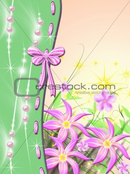 Celebratory background